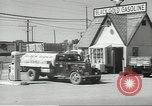 Image of gasoline station Oklahoma United States USA, 1947, second 21 stock footage video 65675062208