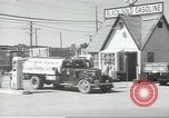 Image of gasoline station Oklahoma United States USA, 1947, second 22 stock footage video 65675062208