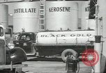 Image of gasoline station Oklahoma United States USA, 1947, second 35 stock footage video 65675062208