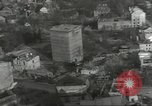 Image of bomb damaged rail road station Hamm Germany, 1945, second 53 stock footage video 65675062221