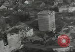Image of bomb damaged rail road station Hamm Germany, 1945, second 56 stock footage video 65675062221