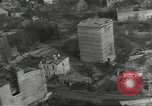 Image of bomb damaged rail road station Hamm Germany, 1945, second 57 stock footage video 65675062221