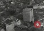 Image of bomb damaged rail road station Hamm Germany, 1945, second 58 stock footage video 65675062221
