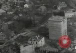 Image of bomb damaged rail road station Hamm Germany, 1945, second 59 stock footage video 65675062221