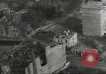 Image of bomb damaged rail road station Hamm Germany, 1945, second 60 stock footage video 65675062221