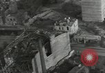 Image of bomb damaged rail road station Hamm Germany, 1945, second 61 stock footage video 65675062221