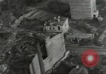 Image of bomb damaged rail road station Hamm Germany, 1945, second 62 stock footage video 65675062221