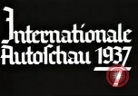 Image of International Automobile Exhibit Berlin Germany, 1937, second 14 stock footage video 65675062222