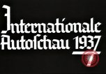 Image of International Automobile Exhibit Berlin Germany, 1937, second 16 stock footage video 65675062222