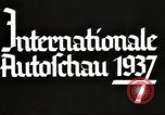 Image of International Automobile Exhibit Berlin Germany, 1937, second 17 stock footage video 65675062222