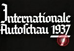 Image of International Automobile Exhibit Berlin Germany, 1937, second 18 stock footage video 65675062222