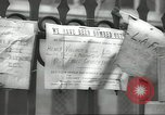 Image of British people carry on after Blitz attack London England United Kingdom, 1941, second 46 stock footage video 65675062256