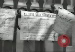 Image of British people carry on after Blitz attack London England United Kingdom, 1941, second 47 stock footage video 65675062256