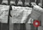 Image of British people carry on after Blitz attack London England United Kingdom, 1941, second 51 stock footage video 65675062256