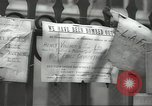 Image of British people carry on after Blitz attack London England United Kingdom, 1941, second 53 stock footage video 65675062256