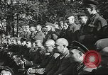Image of Soviet warplanes camouflaged with pine tree limbs Soviet Union, 1941, second 20 stock footage video 65675062261