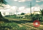 Image of railroad station Hawaii USA, 1942, second 1 stock footage video 65675062970