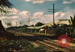 Image of railroad station Hawaii USA, 1942, second 4 stock footage video 65675062970
