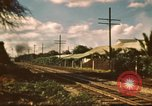 Image of railroad station Hawaii USA, 1942, second 6 stock footage video 65675062970