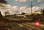 Image of railroad station Hawaii USA, 1942, second 8 stock footage video 65675062970