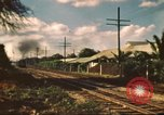 Image of railroad station Hawaii USA, 1942, second 10 stock footage video 65675062970