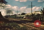 Image of railroad station Hawaii USA, 1942, second 12 stock footage video 65675062970