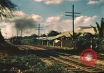 Image of railroad station Hawaii USA, 1942, second 14 stock footage video 65675062970