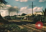 Image of railroad station Hawaii USA, 1942, second 15 stock footage video 65675062970
