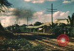 Image of railroad station Hawaii USA, 1942, second 16 stock footage video 65675062970