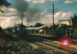 Image of railroad station Hawaii USA, 1942, second 17 stock footage video 65675062970