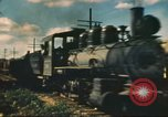 Image of railroad station Hawaii USA, 1942, second 19 stock footage video 65675062970