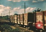 Image of railroad station Hawaii USA, 1942, second 23 stock footage video 65675062970