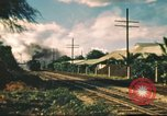 Image of railroad station Hawaii USA, 1942, second 28 stock footage video 65675062970