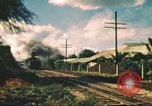 Image of railroad station Hawaii USA, 1942, second 29 stock footage video 65675062970