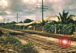 Image of railroad station Hawaii USA, 1942, second 40 stock footage video 65675062970