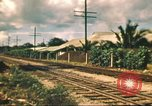 Image of railroad station Hawaii USA, 1942, second 41 stock footage video 65675062970