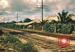 Image of railroad station Hawaii USA, 1942, second 44 stock footage video 65675062970