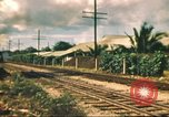 Image of railroad station Hawaii USA, 1942, second 47 stock footage video 65675062970