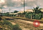 Image of railroad station Hawaii USA, 1942, second 50 stock footage video 65675062970