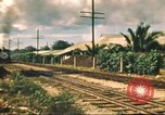 Image of railroad station Hawaii USA, 1942, second 51 stock footage video 65675062970