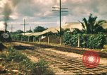 Image of railroad station Hawaii USA, 1942, second 53 stock footage video 65675062970