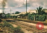 Image of railroad station Hawaii USA, 1942, second 54 stock footage video 65675062970