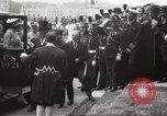 Image of Woodrow Wilson France, 1919, second 25 stock footage video 65675064453
