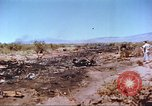 Image of F-100 Super Sabre crash New Mexico United States USA, 1957, second 6 stock footage video 65675064975