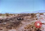 Image of F-100 Super Sabre crash New Mexico United States USA, 1957, second 7 stock footage video 65675064975
