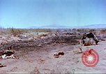 Image of F-100 Super Sabre crash New Mexico United States USA, 1957, second 36 stock footage video 65675064975