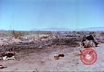 Image of F-100 Super Sabre crash New Mexico United States USA, 1957, second 38 stock footage video 65675064975