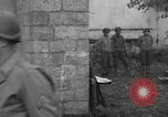 Image of German spy executed by U.S. firing squad Toul France, 1944, second 6 stock footage video 65675065399