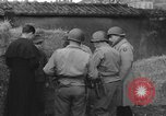 Image of German spy executed by U.S. firing squad Toul France, 1944, second 7 stock footage video 65675065399
