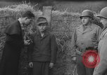 Image of German spy executed by U.S. firing squad Toul France, 1944, second 15 stock footage video 65675065399
